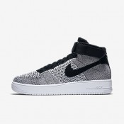 Nike air force 1 ultra flyknit para hombre negro/blanco/negro_180