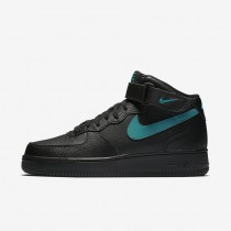 Nike Air Force 1 Mid '07 Men's Shoe Black/Neptune Green