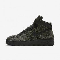 Nike air force 1 ultra flyknit para hombre verde palmera/blanco/negro_176