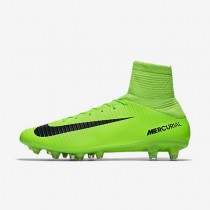 Nike mercurial veloce iii ag_pro para hombre verde eléctrico/lima flash/blanco/negro_592