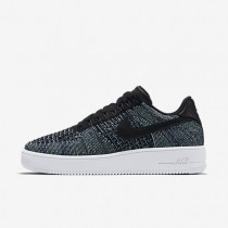 Nike air force 1 ultra flyknit low qs para hombre verde vapor/blanco/negro_625