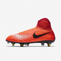 Nike magista obra sg_pro anti clog traction para hombre carmesí total/rojo universitario/mango brillante/negro_671