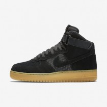 Nike air force 1 07 high lv8 para hombre negro/marrón claro goma/blanco/negro_702