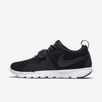 Nike sb trainerendor leather para hombre negro/blanco/negro_813