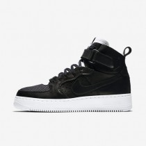 Nike lab air force 1 high cmft tc sp para hombre negro/blanco/negro_931