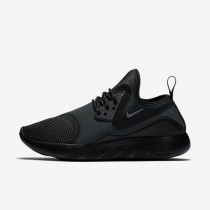 Nike lunarcharge essential para mujer negro/negro/voltio/gris oscuro_134
