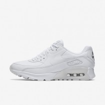 Nike air max 90 ultra essential para mujer blanco/plata metalizado/blanco_262