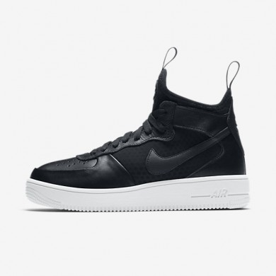Nike air force 1 ultraforce mid para mujer negro/blanco/negro_298
